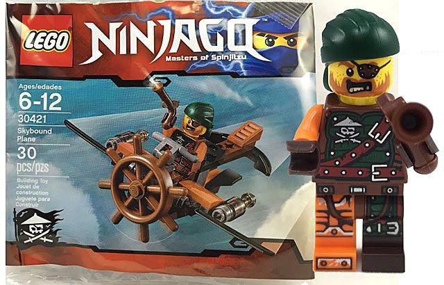 Lego Ninjago Pirate Plane Polybag Lego 30421 5702015608725