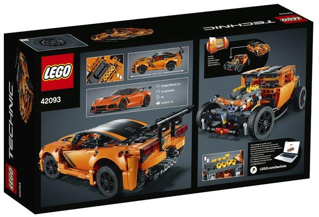 lego technic chevrolet corvette zr1 lego 42093. Black Bedroom Furniture Sets. Home Design Ideas