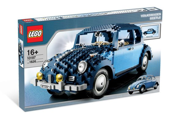 Lego 10187 Vw Beetle on 1973 vw beetle ideas
