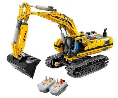 Lego Technic Graafmachine Lego 8043 5702014601635