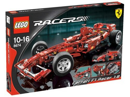 lego ferrari f1 racer 1 8 lego 8674 brickshop holland b v lego en duplo specialist. Black Bedroom Furniture Sets. Home Design Ideas