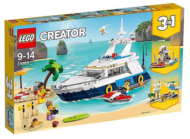 lego creator cruise avonturen lego 31083 5702016267006 brickshop holland b v lego en. Black Bedroom Furniture Sets. Home Design Ideas