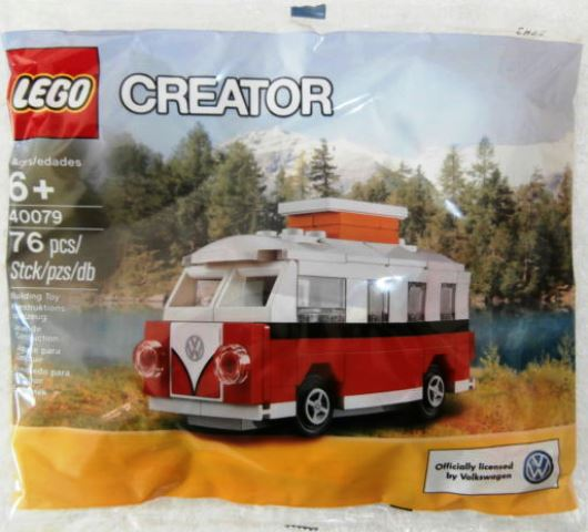 lego creator mini volkswagen t1 camper bus polybag lego. Black Bedroom Furniture Sets. Home Design Ideas