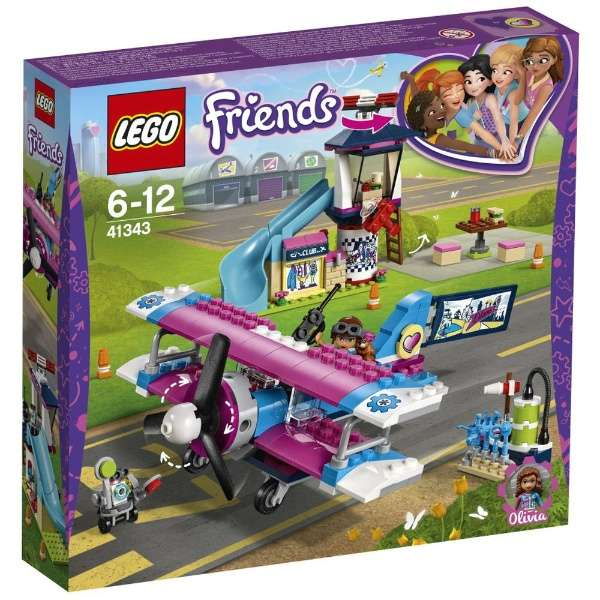 LEGO 41343 Rondvlucht over Heartlake City