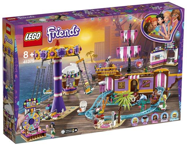 LEGO 41375 Heartlake City pier met kermisattracties