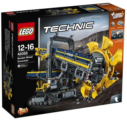 Emmerwiel graafmachine Lego