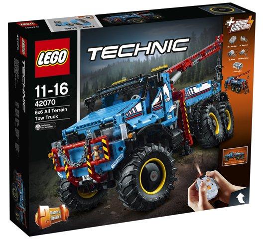 LEGO 42070 6x6 All Terrain Sleepwagen