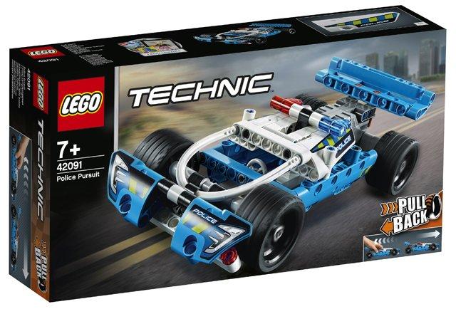 LEGO 42091 Politie achtervolging
