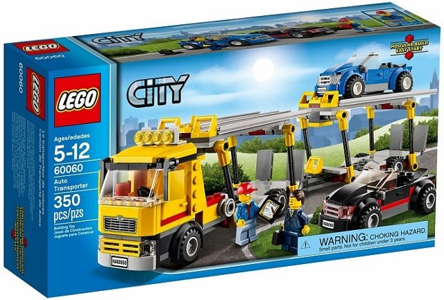 Lego city autotransport lego 60060 5702015119221 for Brick city motors reviews