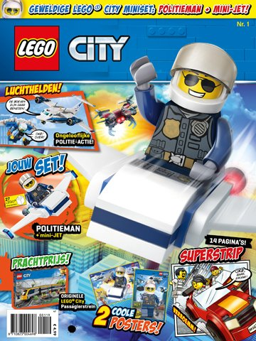 lego city magazine 2019 1 8710823004698 lego city. Black Bedroom Furniture Sets. Home Design Ideas