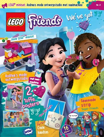 LEGO Friends Magazine 2018-2 | 8710823004827 | LEGO Boeken ...