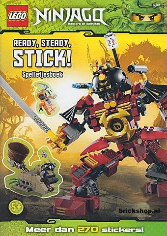LEGO Ninjago Spelletjesboek met Stickers | LEGO Boeken ...