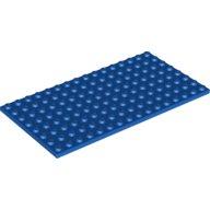Lego plaat 8x16 blauw platen lego onderdelen brickshop holland b v lego en duplo specialist - Plaat bad ...
