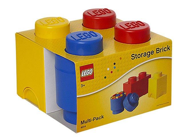 Lego Storage Brick Multi Pack 3 Pcs 5711938025274