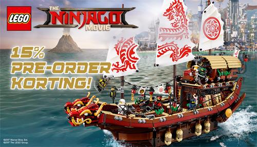 Pre-Order Korting The LEGO Ninjago Movie Sets