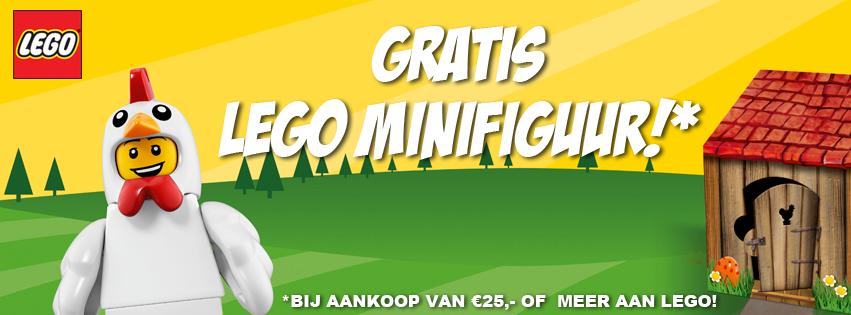 Gratis LEGO Minifiguur Pasen!