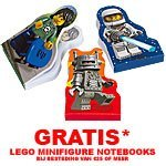GRATIS LEGO Minifigure Notebooks