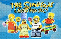 LEGO The Simpsons Project