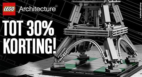 Tot 30% Korting op LEGO Architecture