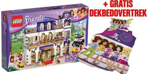 GRATIS LEGO Friends Dekbedovertrek