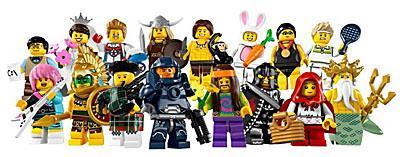 LEGO 8831 Minifiguren Serie 7