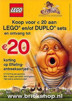 LEGO Efteling Actie