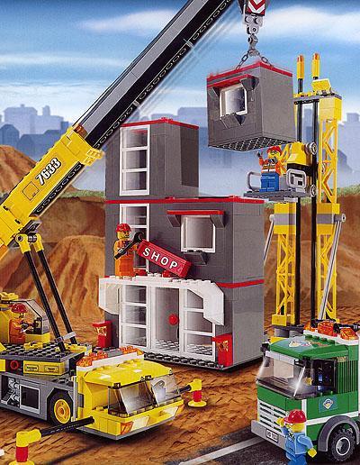 LEGO 7633 Bouwplaats