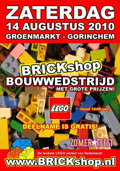 LEGO Bouwwedstrijd Gorcumse Zomerfeesten