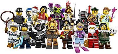 LEGO 8833 Minifigures Series 8