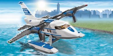 LEGO City Politie Watervliegtuig 7723