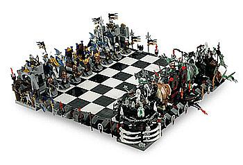 LEGO Castle Fantasie Schaakspel 3