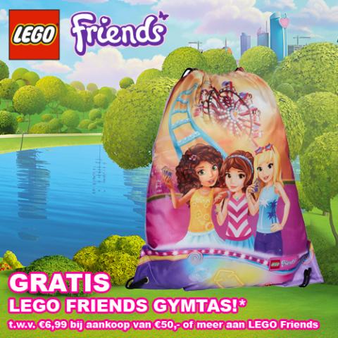 GRATIS GymTas Friends