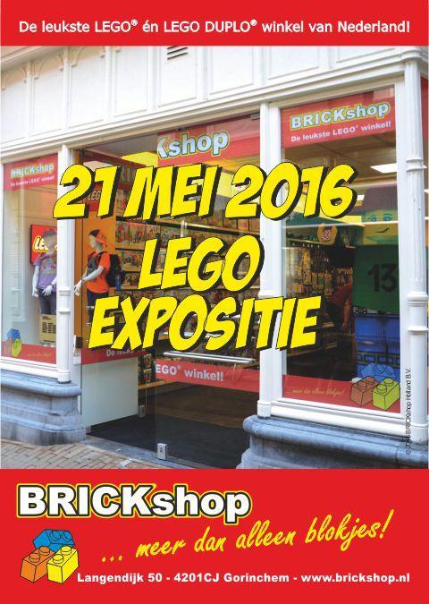 LEGO Expositie 21 Mei 2016