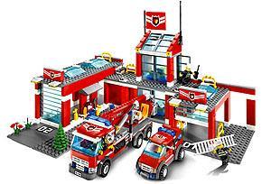 7945 Brandweerstation LEGO