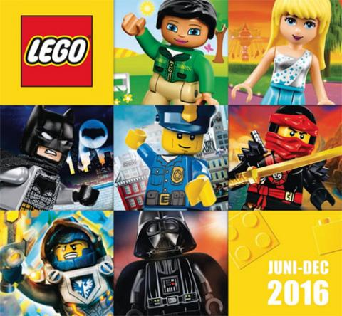LEGO Catalogus 2016 juni - december